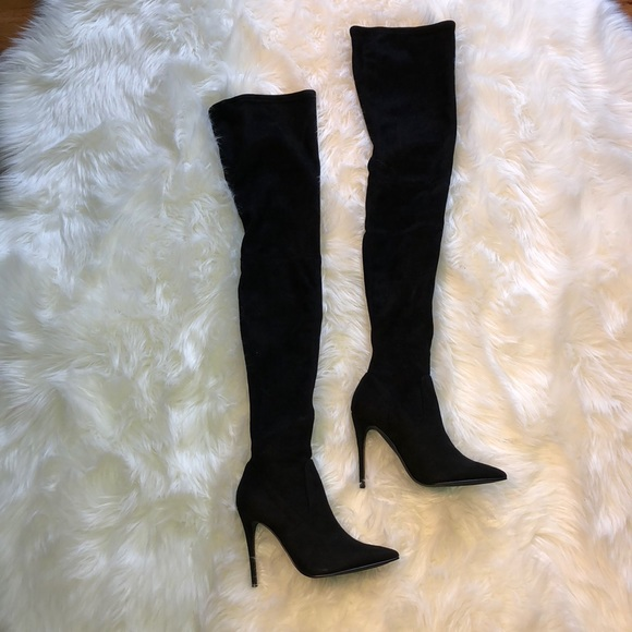 "42fa441353f Steve Madden thigh high "" Dominique "" boots"